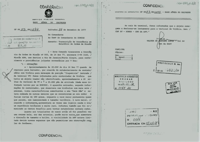 Notes from the investigation of the 1977 Colares UFO incident