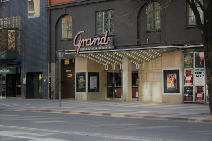 Outside The Grand Cinema