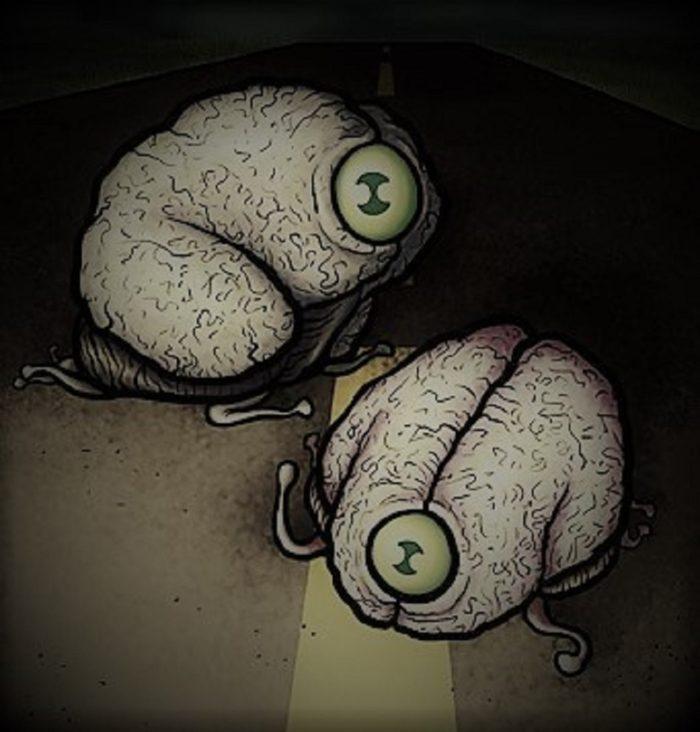 Alien Monster Brains