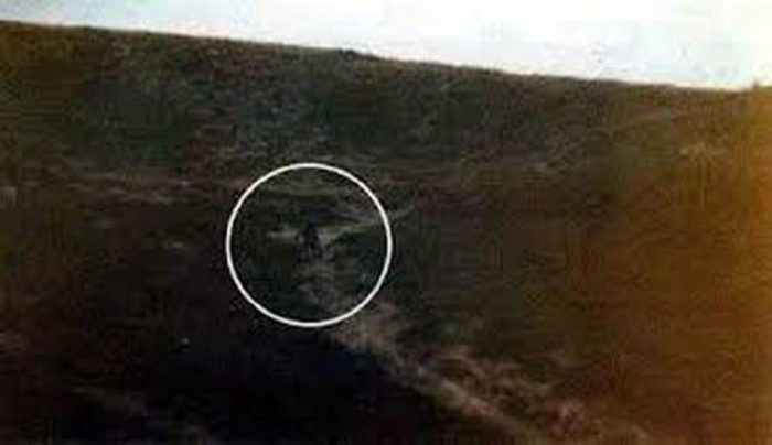 An apparent alien on the Ilkly Moor