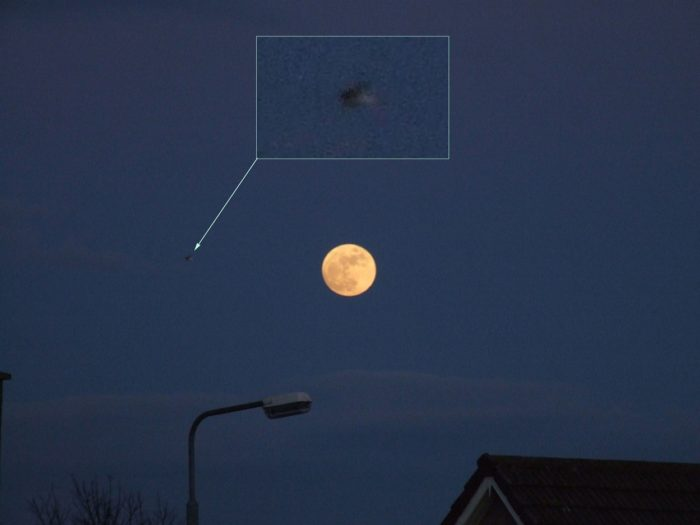 Does this picture show a UFO