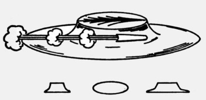 1947 UFO Sketch