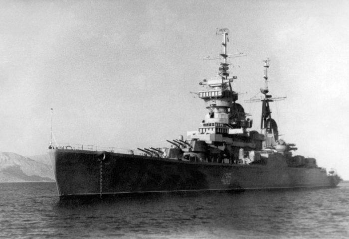 Buster Soviet Ship