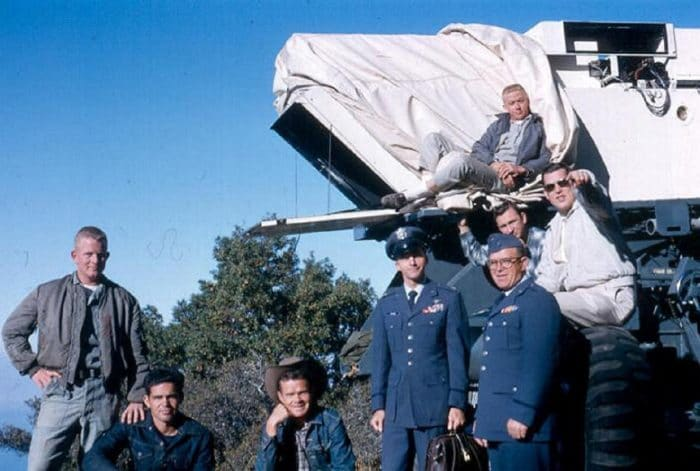 The team at the Big Sur sighting, September 1964