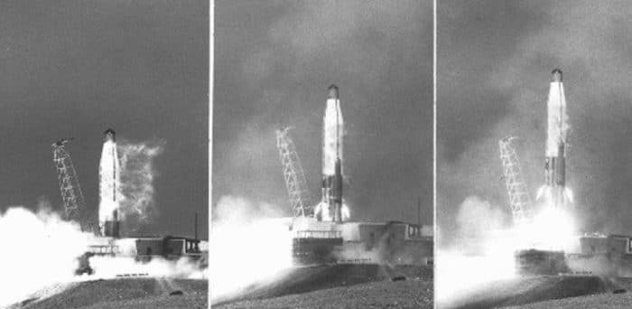 Pictures from the Atlas Missile launch