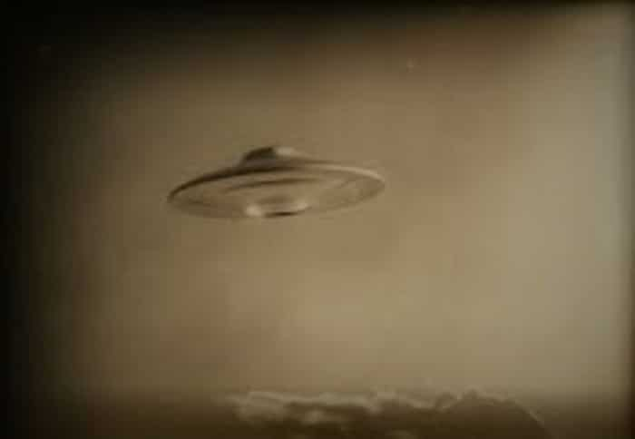 Picture claiming to show a real UFO