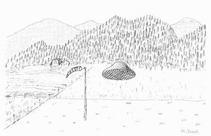 Sketch of the UFO