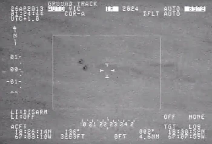 Does this military footage show a real UFO?