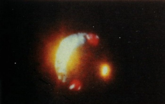 Does this picture show a real UFO?