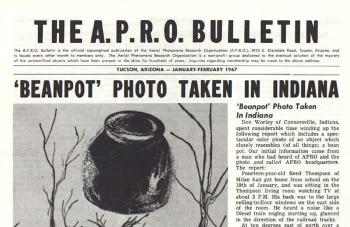 A newspaper clipping of the incident