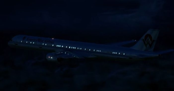 Artist's impression of the plane