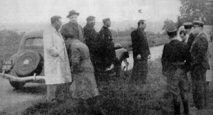 Investigators at the Marco P encounter