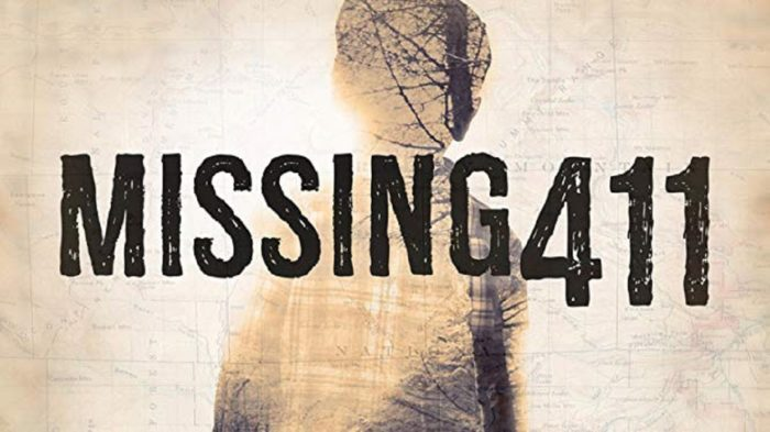 The logo of the Missing 411 investigation