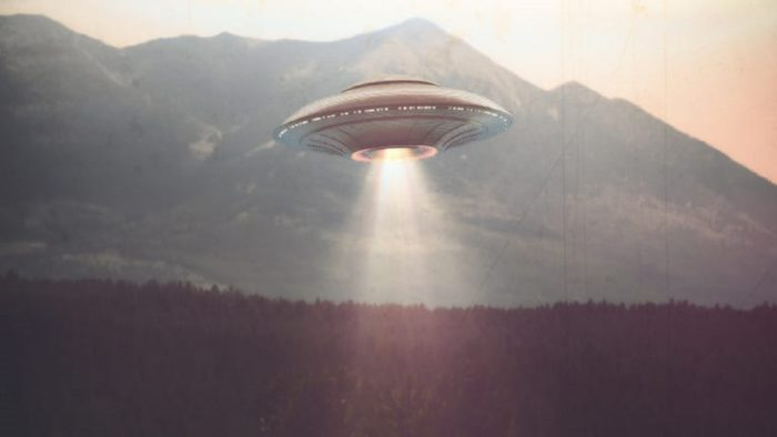 A depiction of a typical UFO reported in 1964