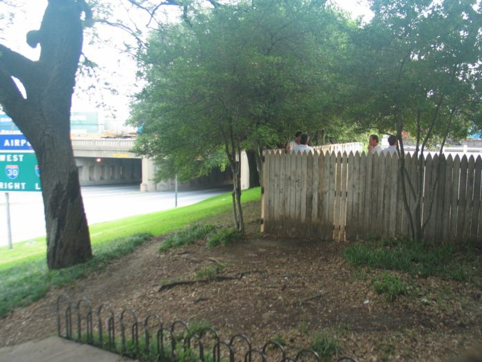 The Grassy Knoll today