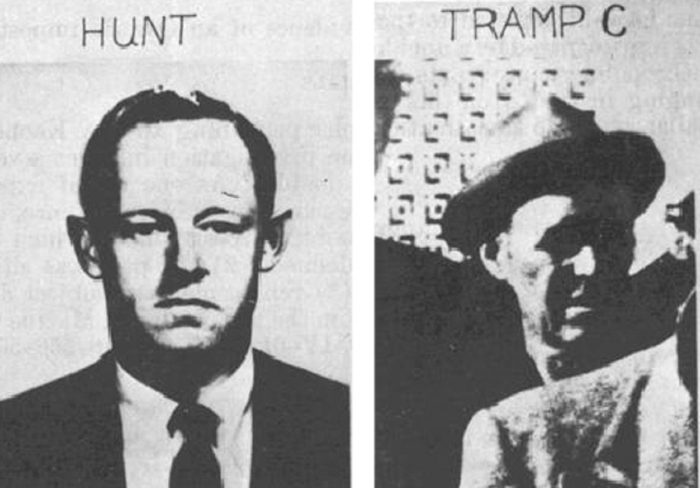 Picture of Howard Hunt and the third tramp