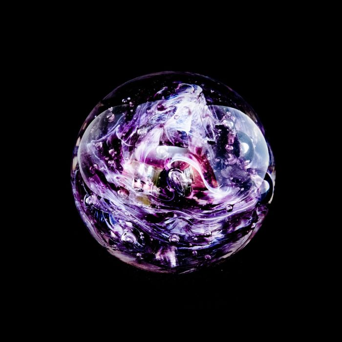 A depiction of an orb