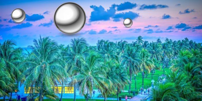 A depiction of strange orbs of Florida