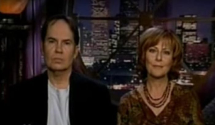 Clayton and Donna Lee on television