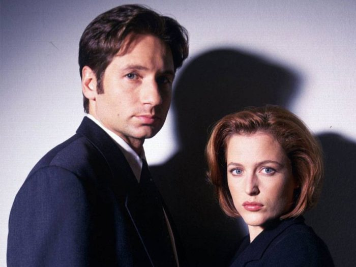 Fox Mulder (left) and Dana Scully (right) - the main characters of the X-Files
