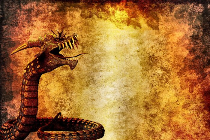 An image of dragon-like creature