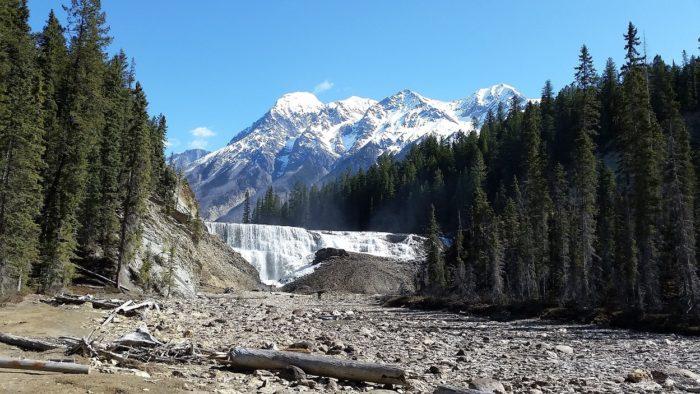 The mountainous Canadian landscape