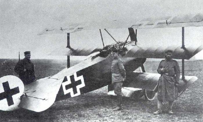 Baron Manfred von Richthofen's plane