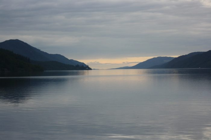 A picture of the open waters of Loch Ness