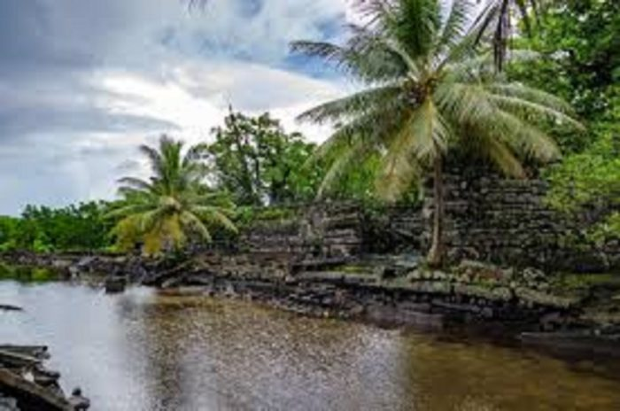 The waterways of Nan Madol