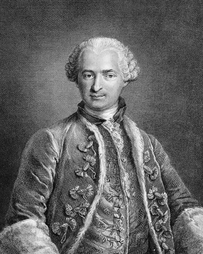 Portrait of the Count of St. Germain