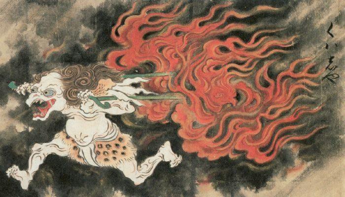 Depiction of a Kasha