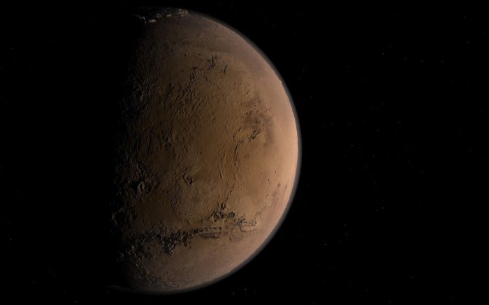 A picture of Mars