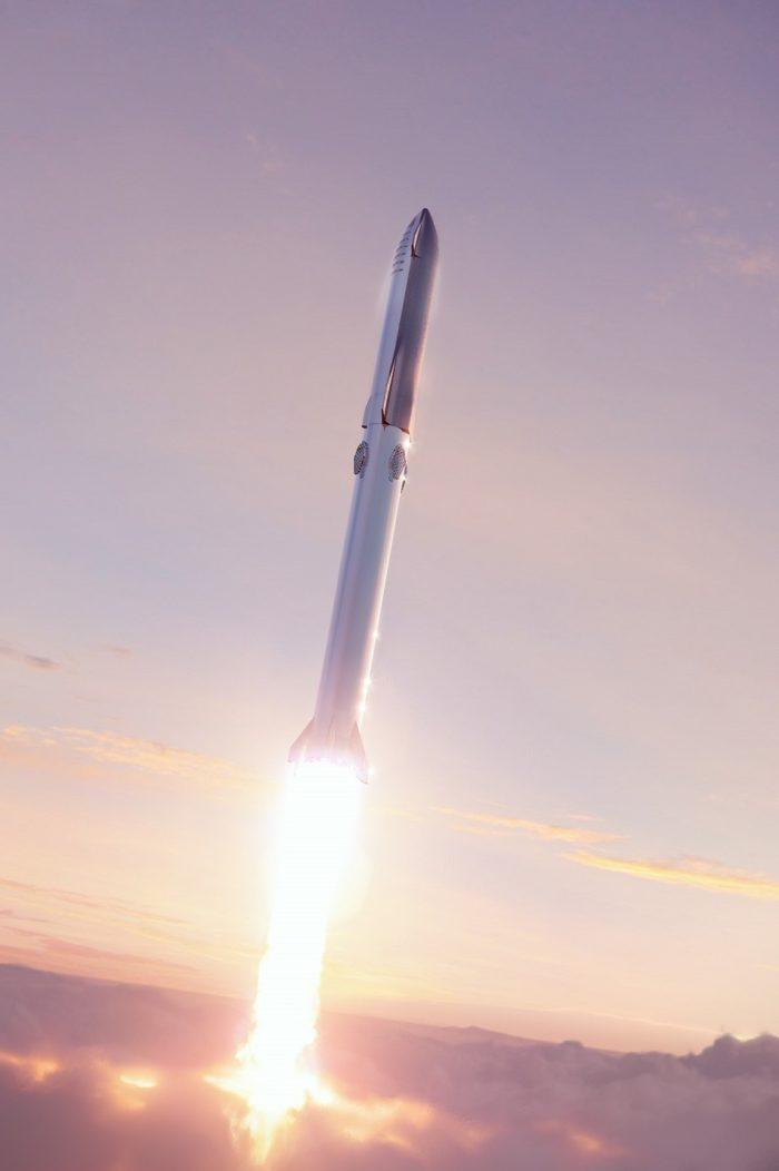 A Space-X rocket