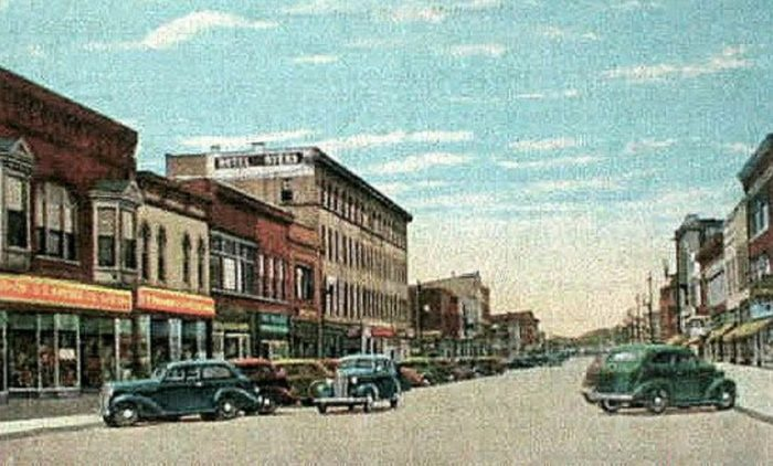 A picture of Mattoon in the 1940s