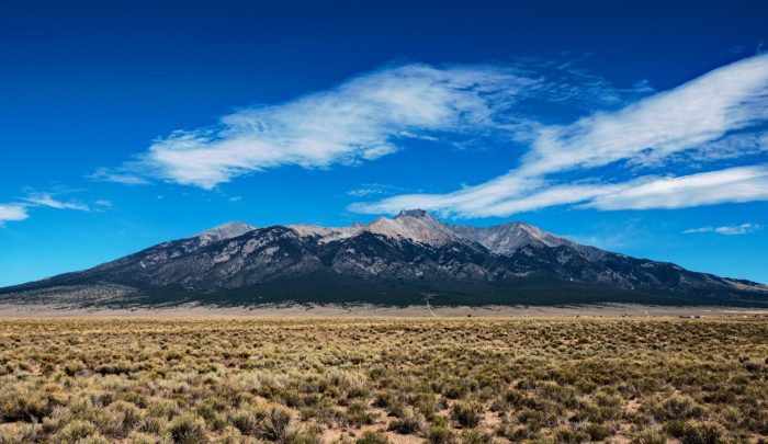 A picture of the San Luis Valley