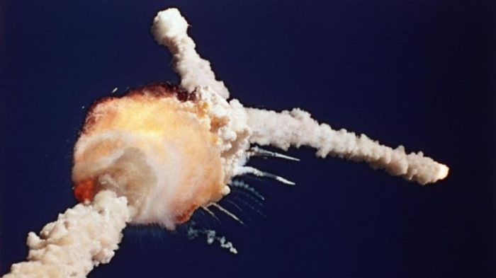 The immediate aftermath of the Challenger disaster