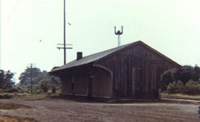 The rail tracks where the beast disappeared