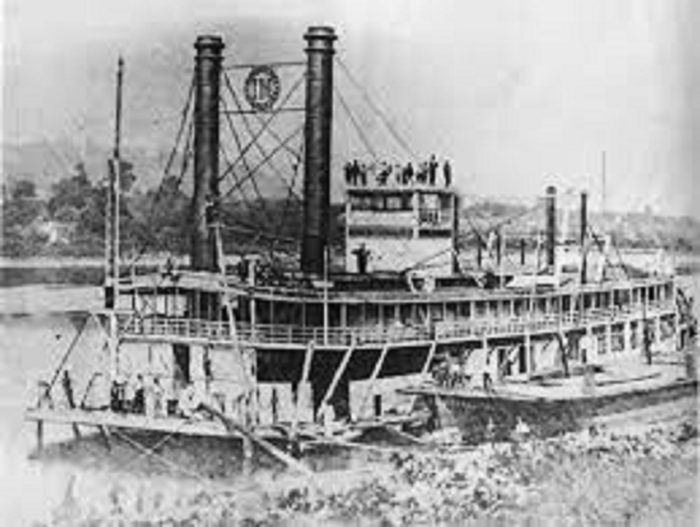 The Iron Mountain riverboat