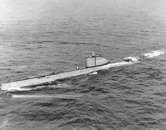 Picture of the UB65 submarine