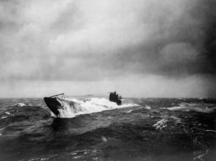 Picture of a German U-boat