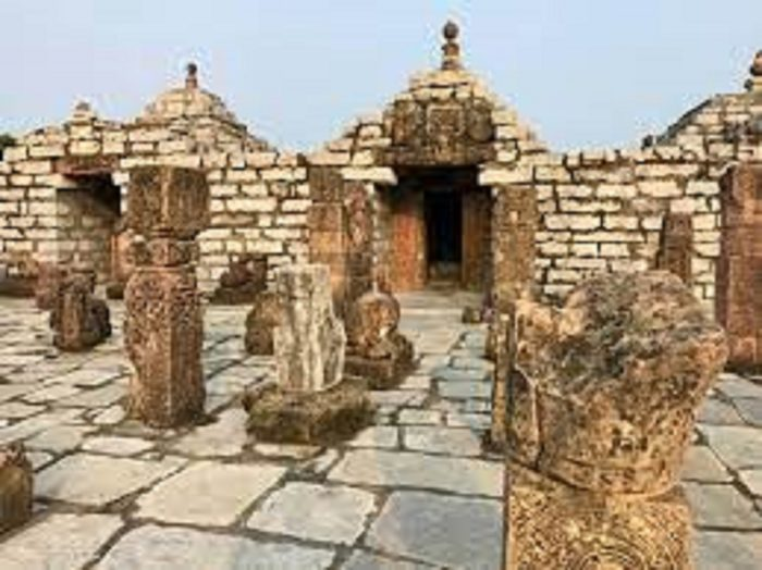 The rediscivered temple at Sirpur