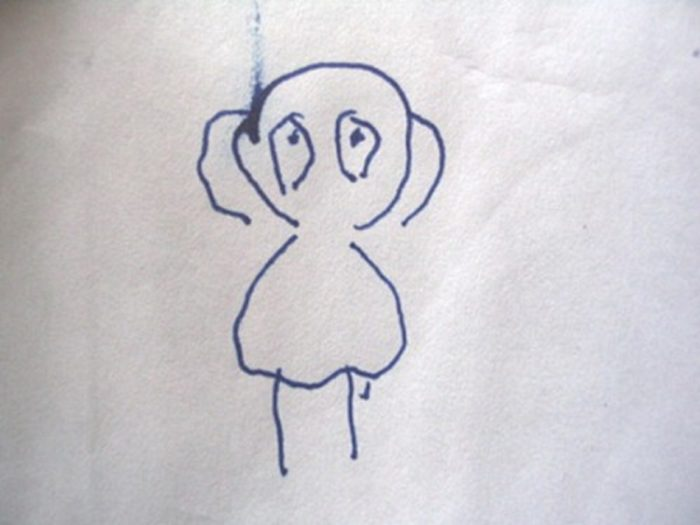 Witness sketch of The Balloon Man