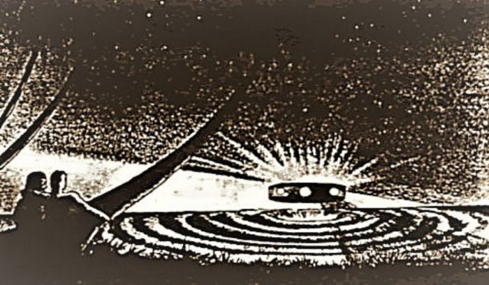 Sketch of the Togo beach encounter