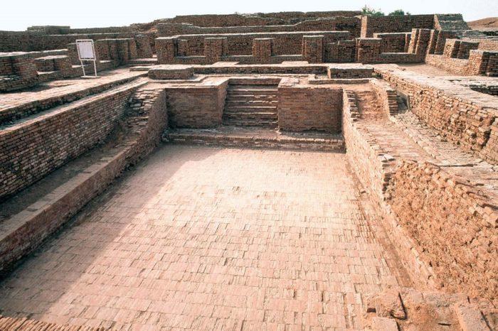 The site of Mohenjo-Daro