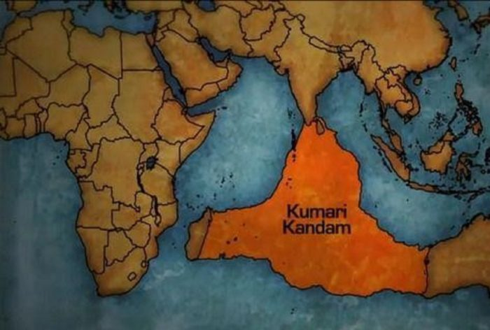 Where some researchers believe Lemuria might reside under the Indian Ocean