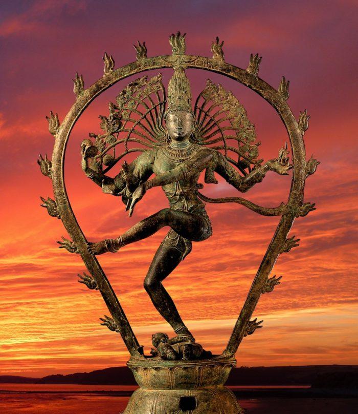 Depiction of the Hindu god, Shiva