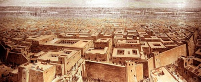 Depiction of the Indus Valley Civilization