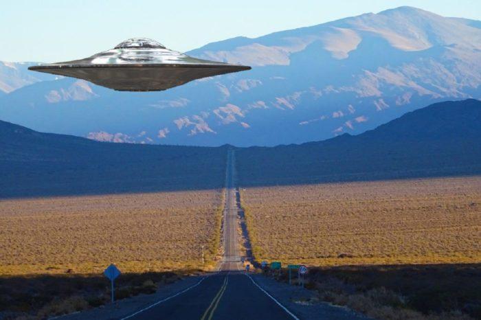 Superimposed UFO over Argentina