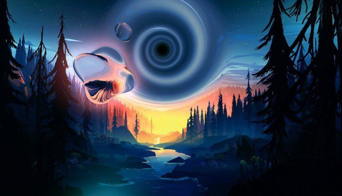 A depiction of a portal