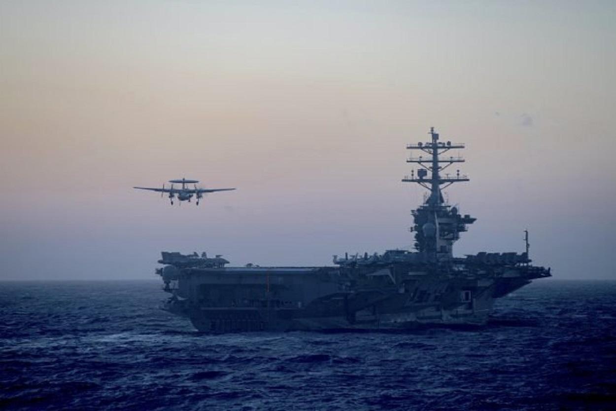The USS Nimitz